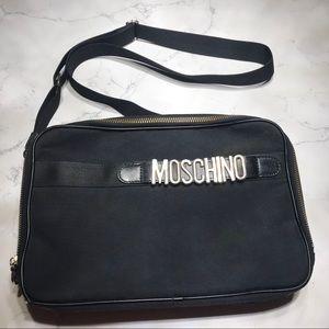 Vintage MOSCHINO Nylon Shoulder Bag